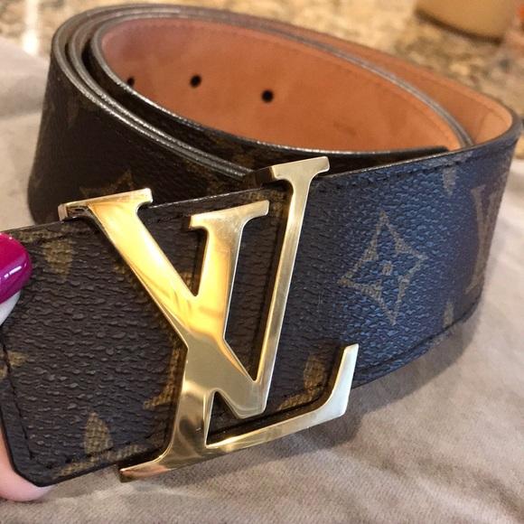 9ffa47c627f5 Louis Vuitton Other - Authentic Louis Vuitton Men s Belt